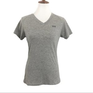Under Armour Womans Small Grey Tee